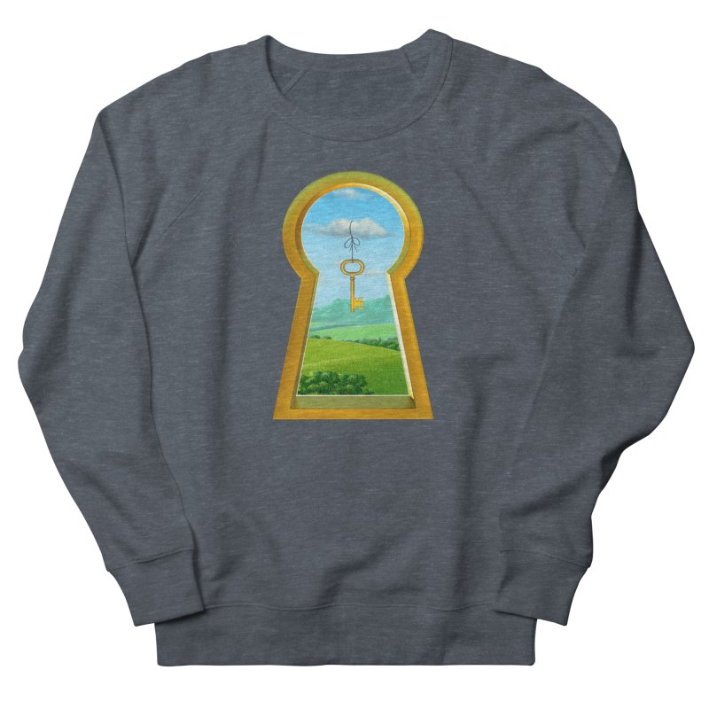 Keyhole Women's French Terry Sweatshirt by richgrote's Shop
