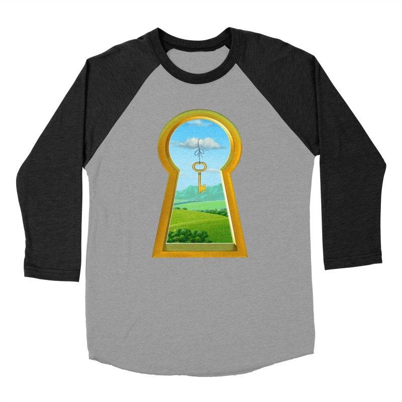 Keyhole Men's Baseball Triblend T-Shirt by richgrote's Shop
