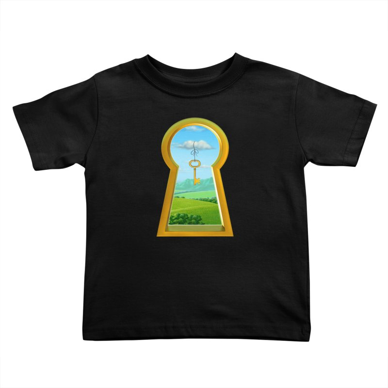Keyhole Kids Toddler T-Shirt by richgrote's Shop