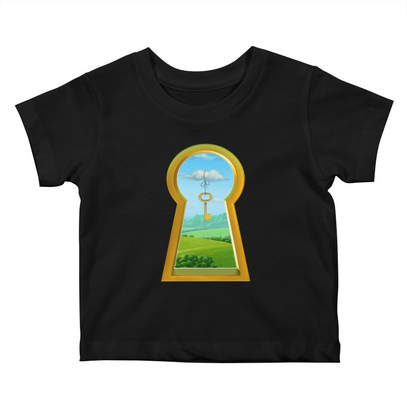 Keyhole Kids Baby T-Shirt by richgrote's Shop