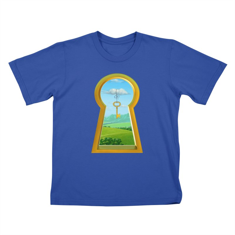 Keyhole Kids T-Shirt by richgrote's Shop