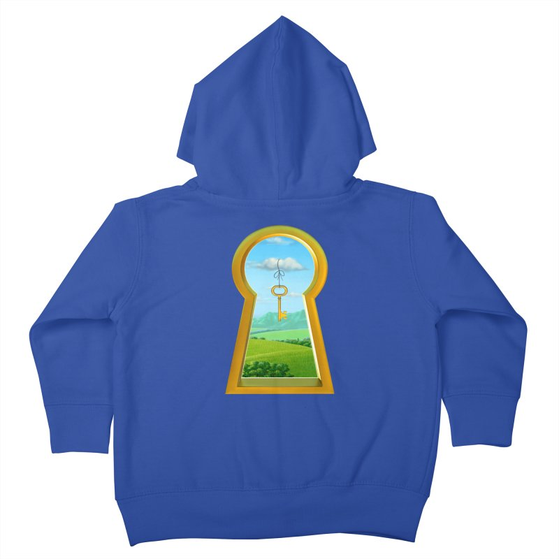 Keyhole Kids Toddler Zip-Up Hoody by richgrote's Shop