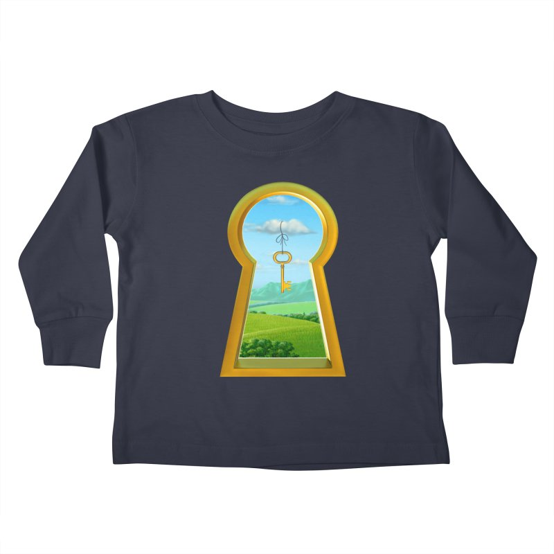 Keyhole Kids Toddler Longsleeve T-Shirt by richgrote's Shop
