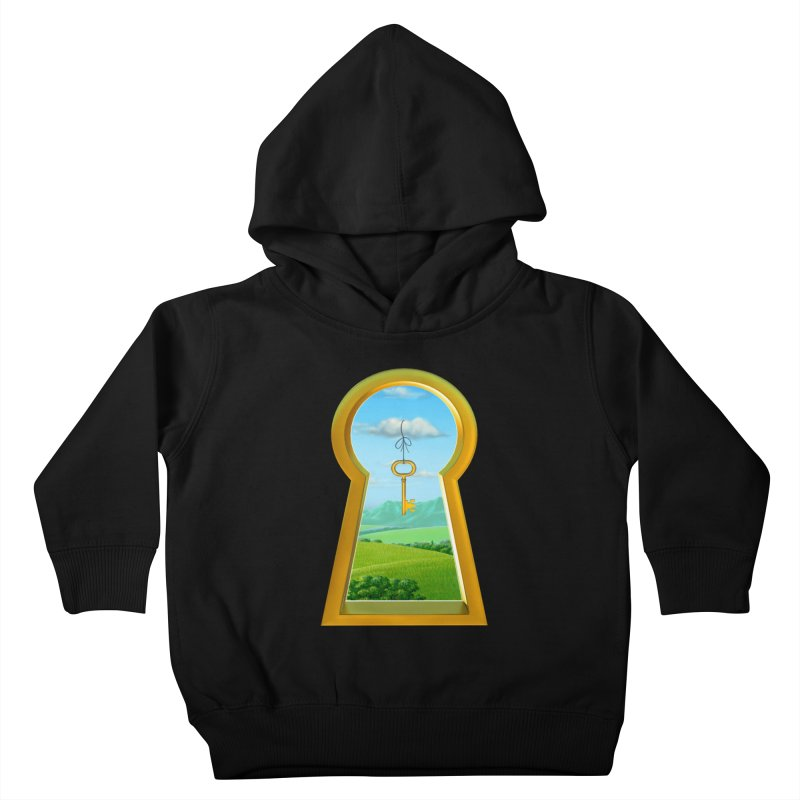 Keyhole Kids Toddler Pullover Hoody by richgrote's Shop