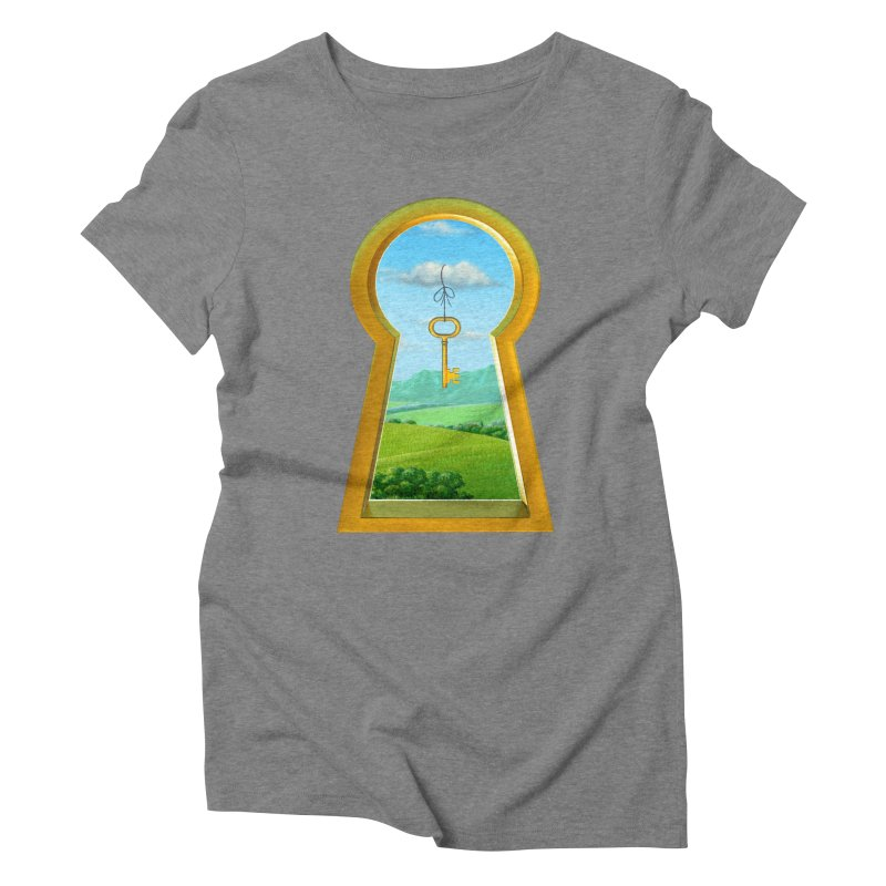 Keyhole Women's Triblend T-shirt by richgrote's Shop