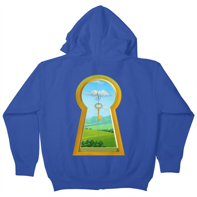 Keyhole Kids Zip-Up Hoody by richgrote's Shop