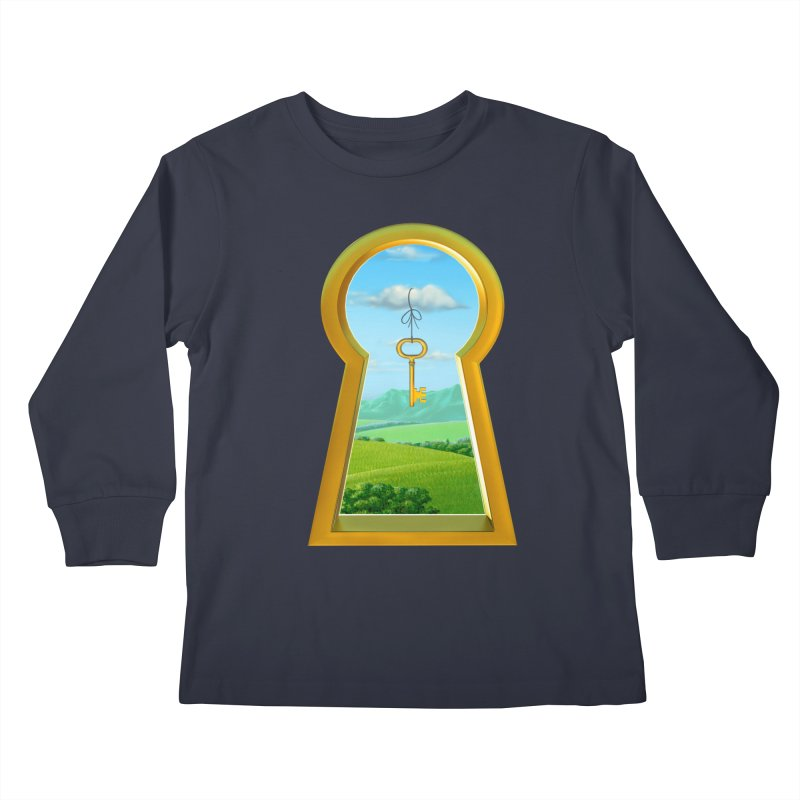 Keyhole Kids Longsleeve T-Shirt by richgrote's Shop