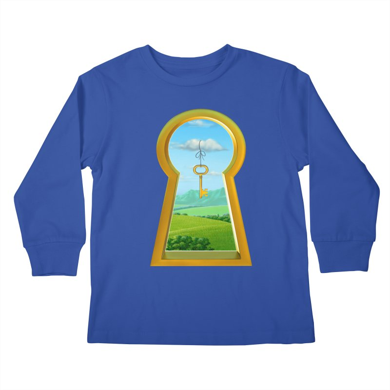 Keyhole Kids Longsleeve T-Shirt by richgrote's Shop