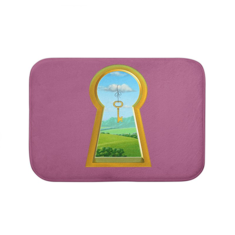 Keyhole Home Bath Mat by richgrote's Shop