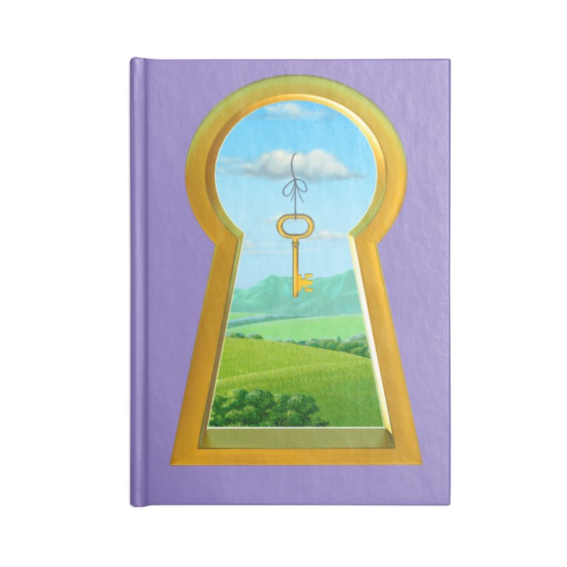 Keyhole Accessories Notebook by richgrote's Shop