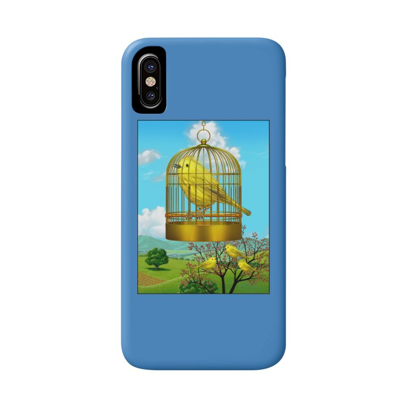 birdcage Accessories Phone Case by richgrote's Shop