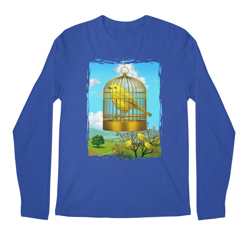 birdcage Men's Longsleeve T-Shirt by richgrote's Shop