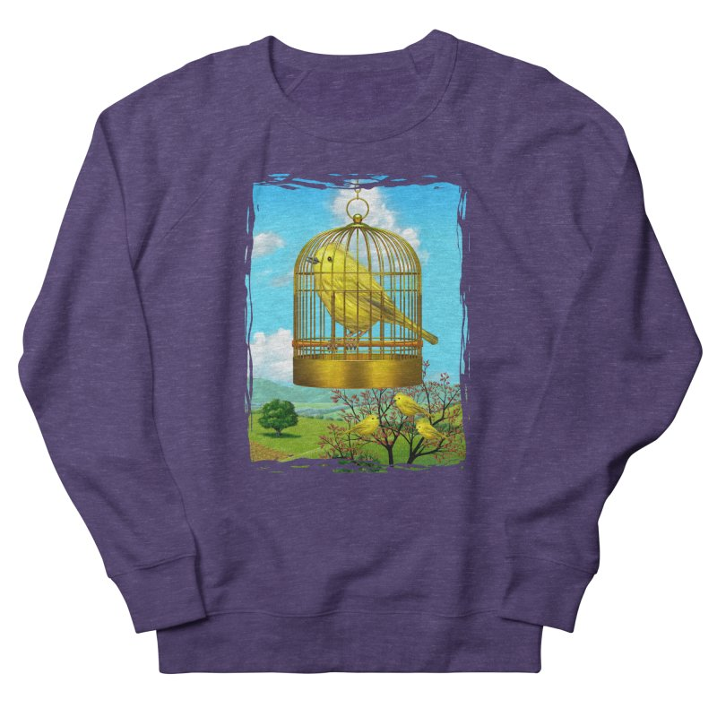 birdcage Men's French Terry Sweatshirt by richgrote's Shop