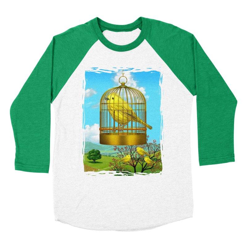 birdcage Women's Baseball Triblend T-Shirt by richgrote's Shop