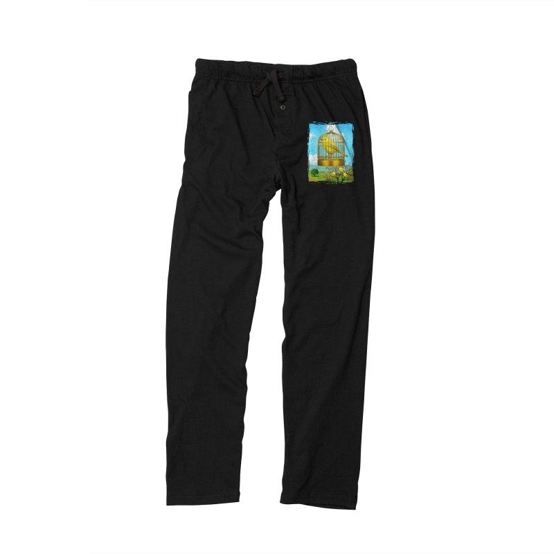 birdcage Men's Lounge Pants by richgrote's Shop
