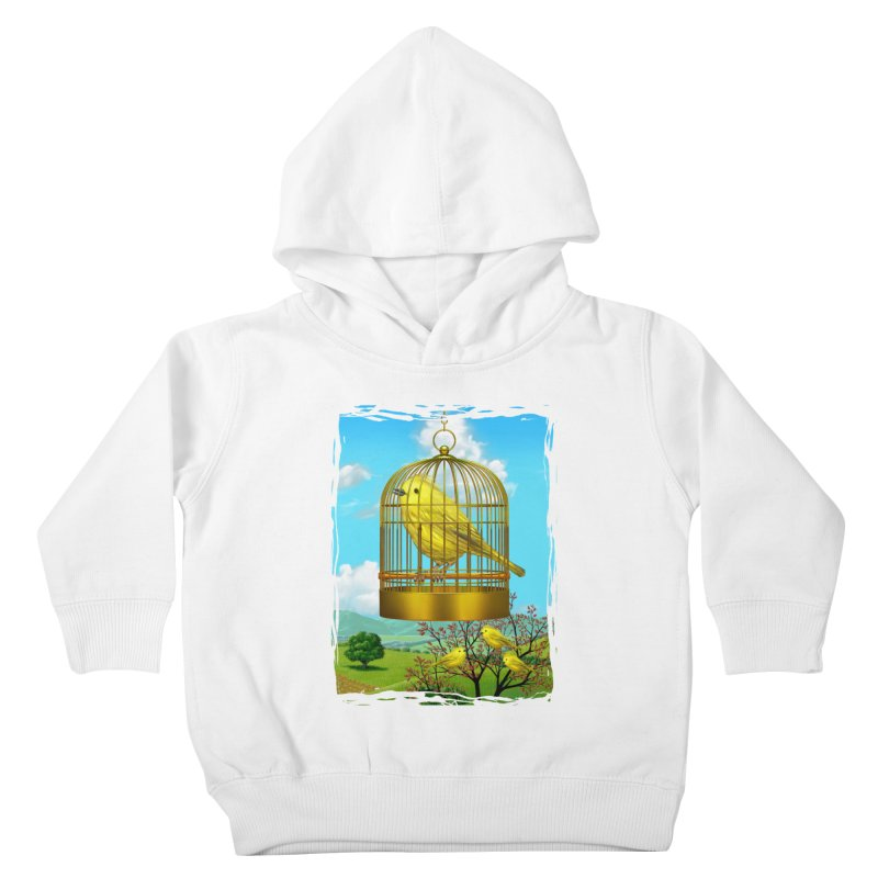 birdcage Kids Toddler Pullover Hoody by richgrote's Shop