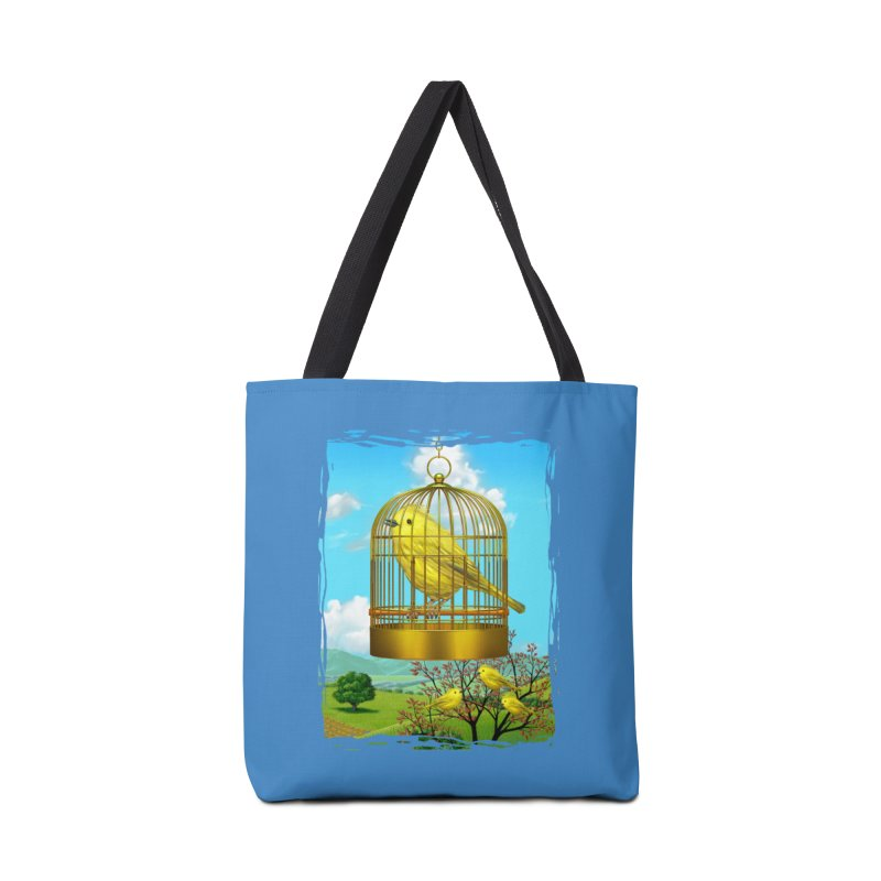 birdcage Accessories Bag by richgrote's Shop