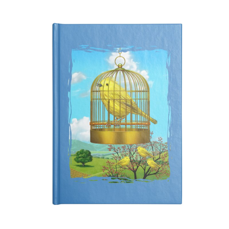 birdcage Accessories Notebook by richgrote's Shop