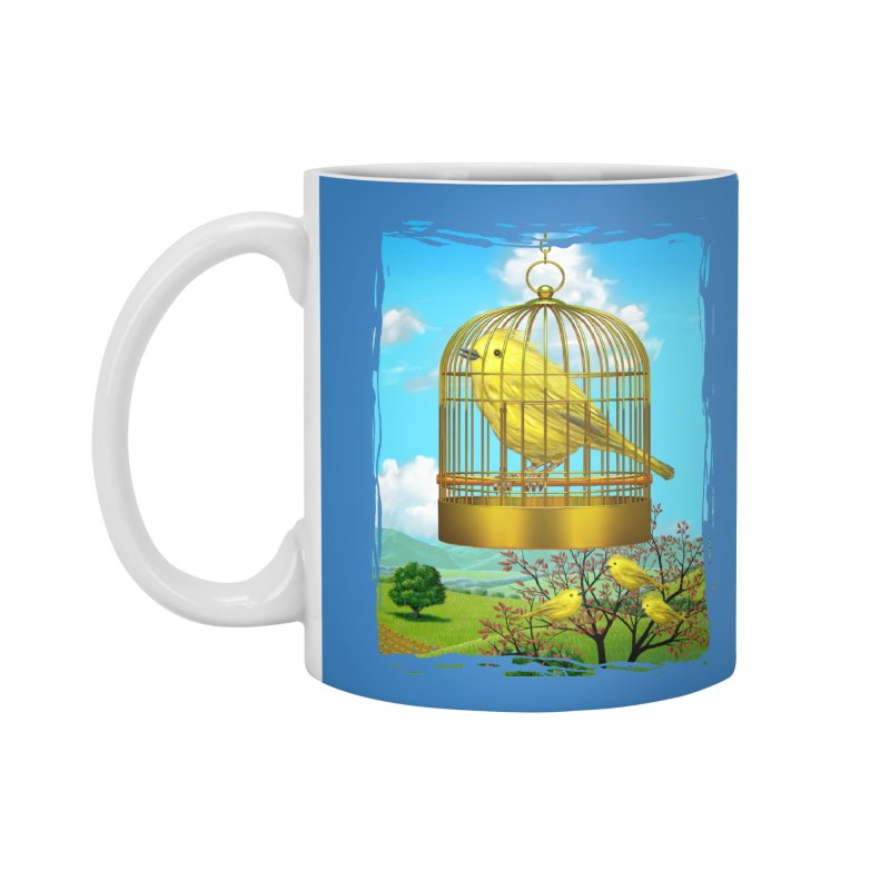 birdcage Accessories Mug by richgrote's Shop