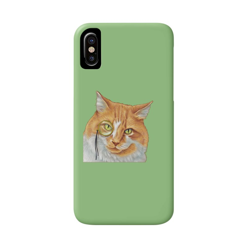 Captain Cat Accessories Phone Case by richgrote's Shop