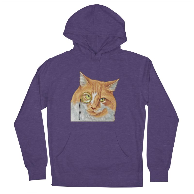 Captain Cat Women's Pullover Hoody by richgrote's Shop
