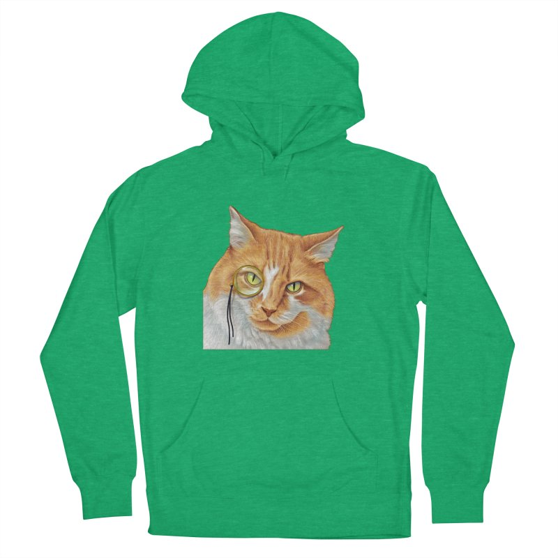 Captain Cat Men's French Terry Pullover Hoody by richgrote's Shop
