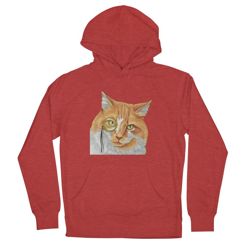 Captain Cat Men's Pullover Hoody by richgrote's Shop