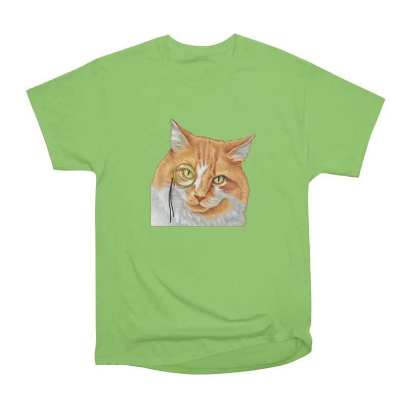 Captain Cat Men's Heavyweight T-Shirt by richgrote's Shop
