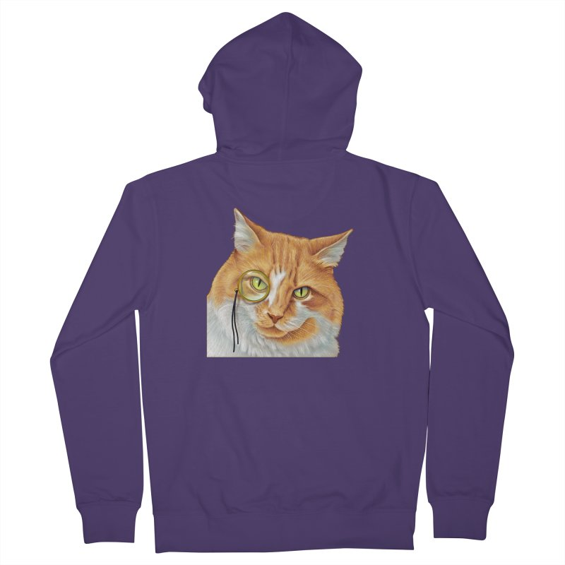 Captain Cat Women's Zip-Up Hoody by richgrote's Shop