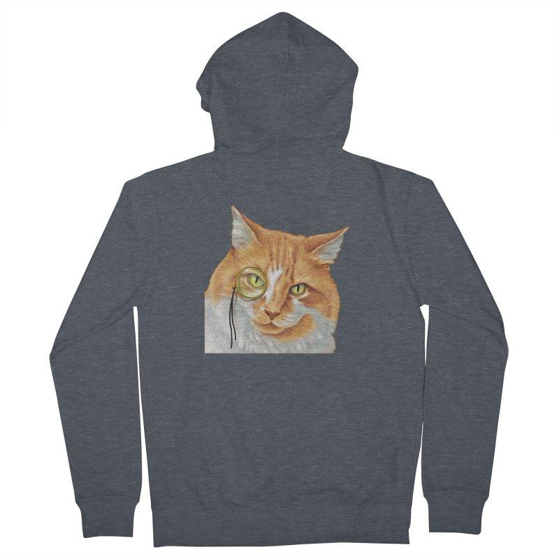 Captain Cat Men's Zip-Up Hoody by richgrote's Shop