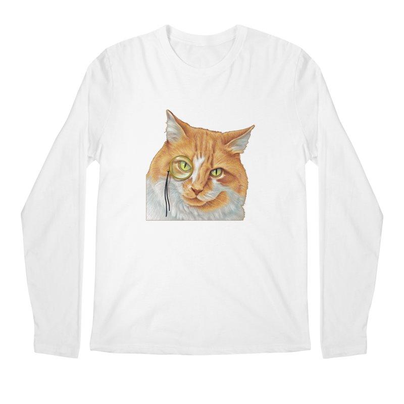 Captain Cat Men's Regular Longsleeve T-Shirt by richgrote's Shop