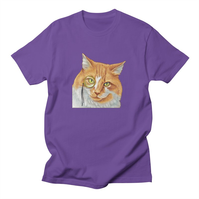 Captain Cat Men's T-Shirt by richgrote's Shop