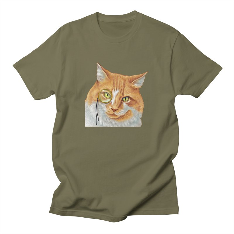 Captain Cat Men's Regular T-Shirt by richgrote's Shop