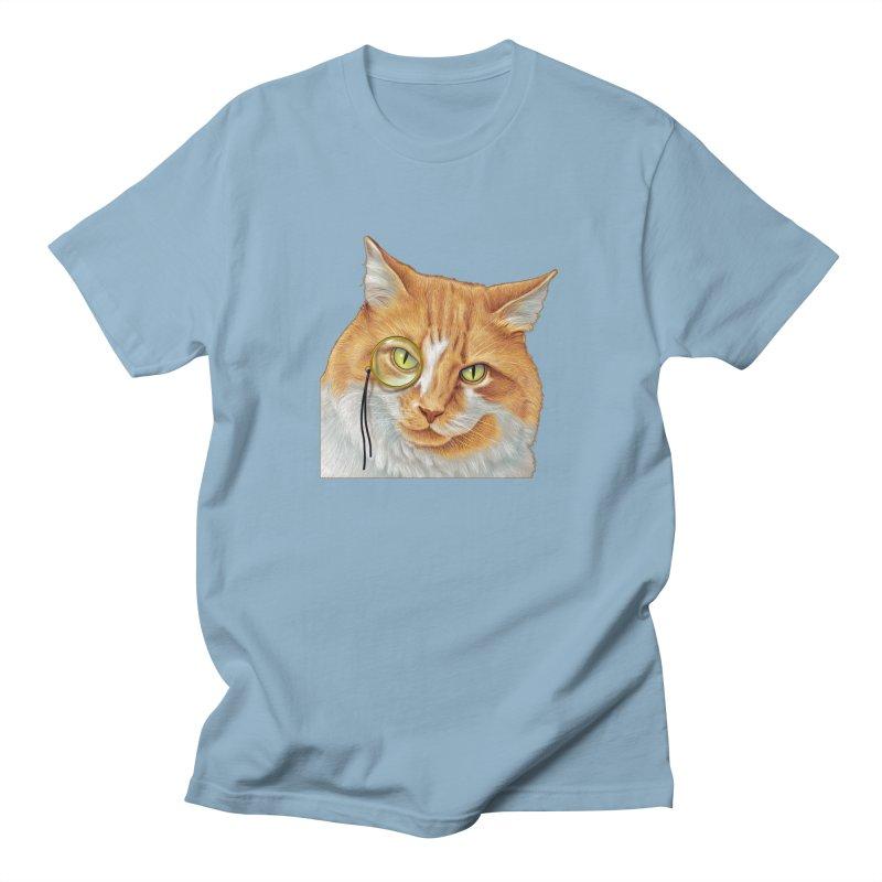 Captain Cat Men's T-Shirt by richgrote's Shop