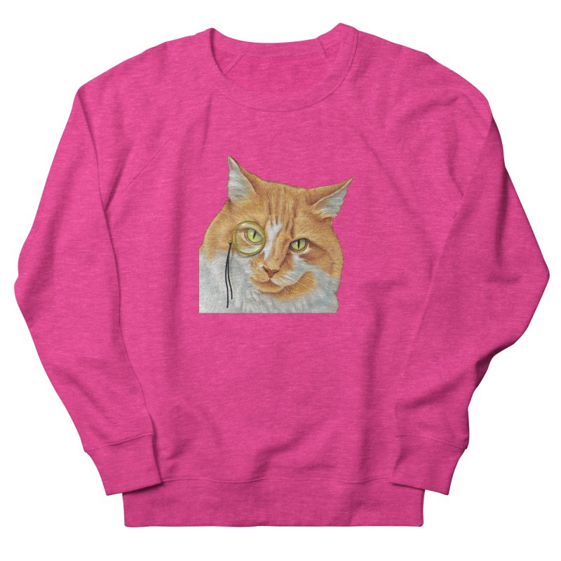 Captain Cat Women's French Terry Sweatshirt by richgrote's Shop
