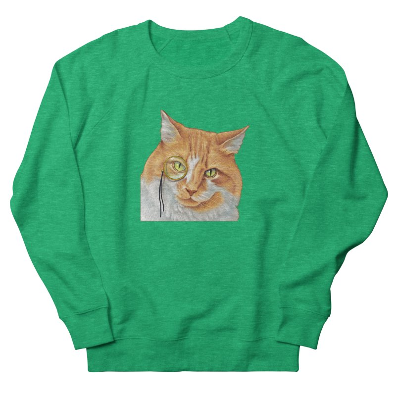Captain Cat Men's Sweatshirt by richgrote's Shop