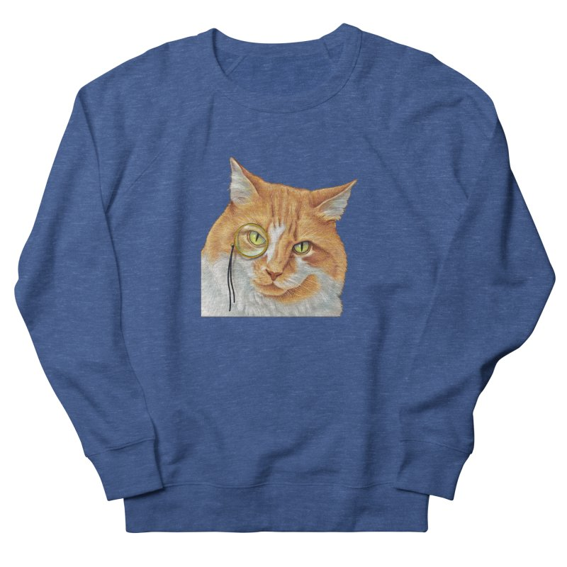 Captain Cat Men's Sweatshirt by richgrote's Shop