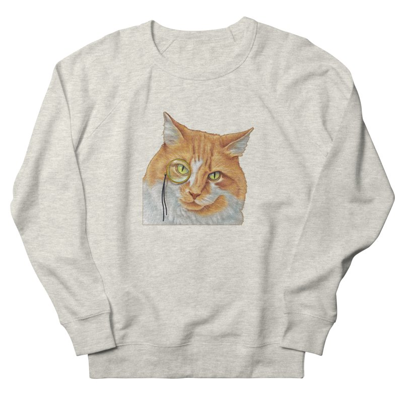 Captain Cat Men's French Terry Sweatshirt by richgrote's Shop