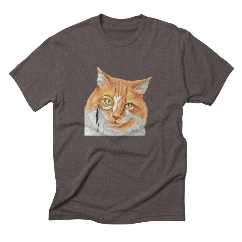 Captain Cat Men's Triblend T-Shirt by richgrote's Shop