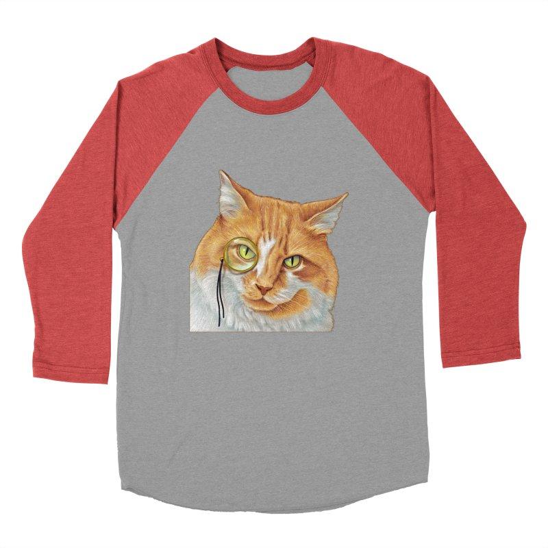 Captain Cat Women's Baseball Triblend T-Shirt by richgrote's Shop