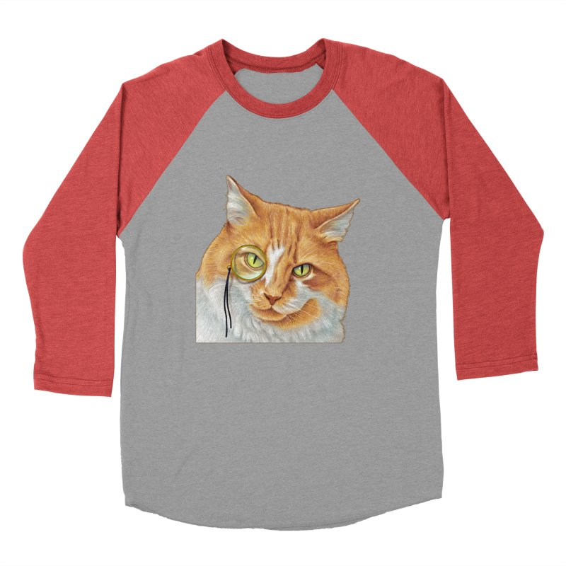 Captain Cat Men's Baseball Triblend T-Shirt by richgrote's Shop