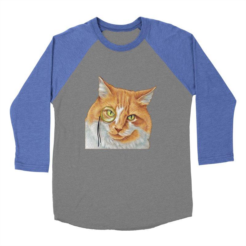 Captain Cat Men's Baseball Triblend T-Shirt by richgrote's Shop