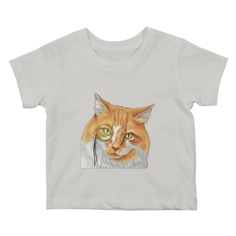 Captain Cat Kids Baby T-Shirt by richgrote's Shop