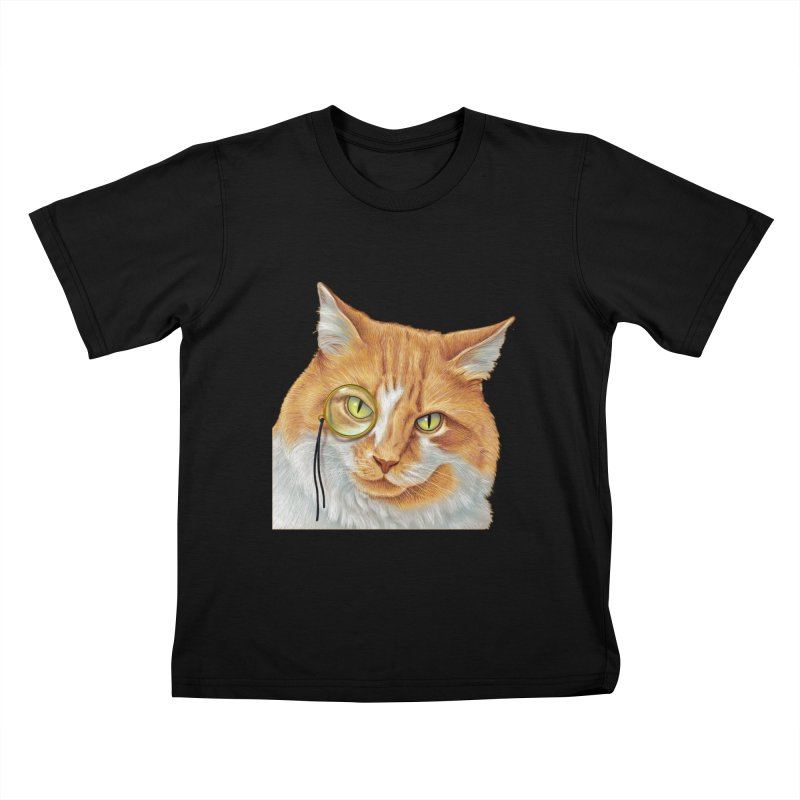 Captain Cat Kids T-Shirt by richgrote's Shop