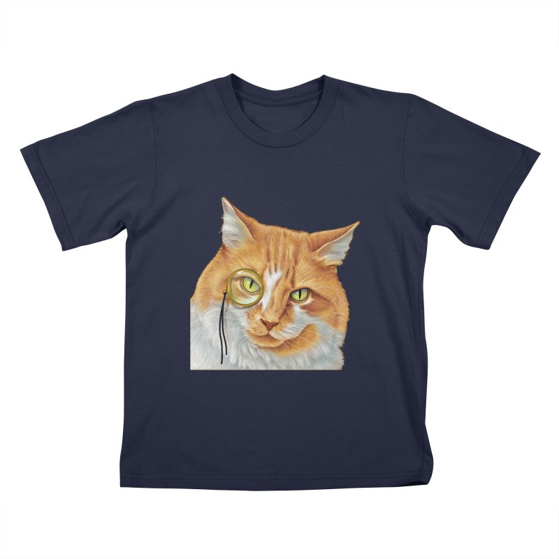Captain Cat Kids T-Shirt by richgrote's Shop