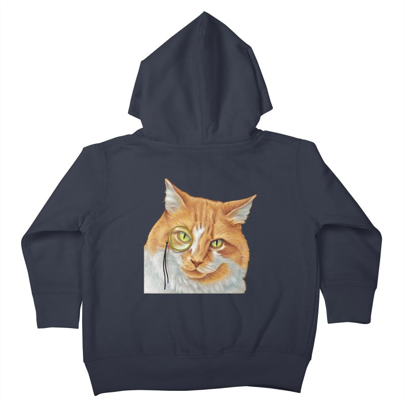 Captain Cat Kids Toddler Zip-Up Hoody by richgrote's Shop