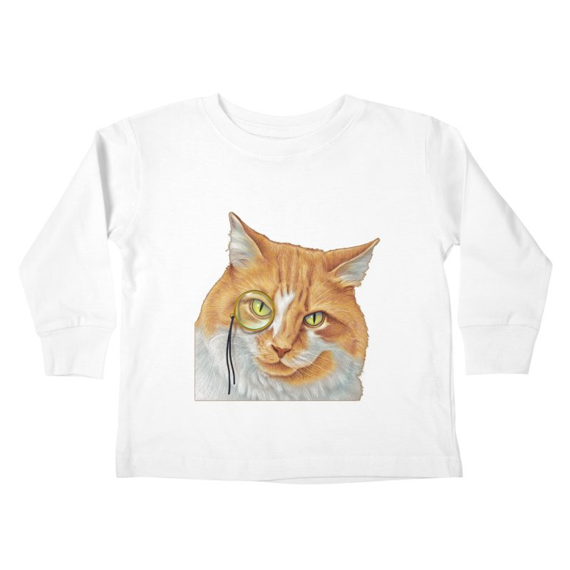 Captain Cat Kids Toddler Longsleeve T-Shirt by richgrote's Shop