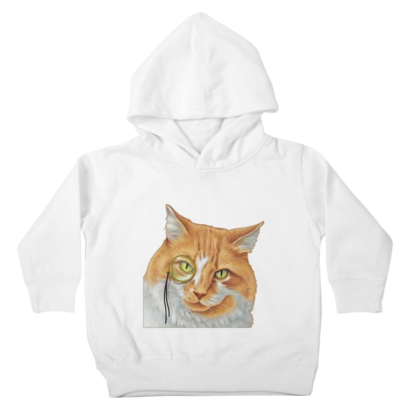 Captain Cat Kids Toddler Pullover Hoody by richgrote's Shop