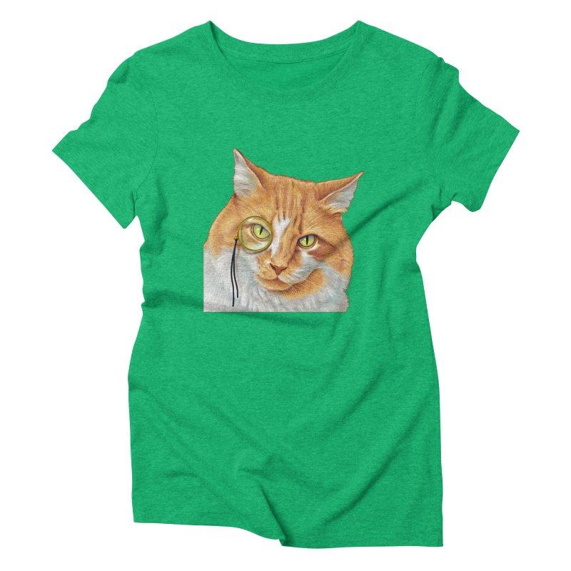 Captain Cat Women's Triblend T-Shirt by richgrote's Shop