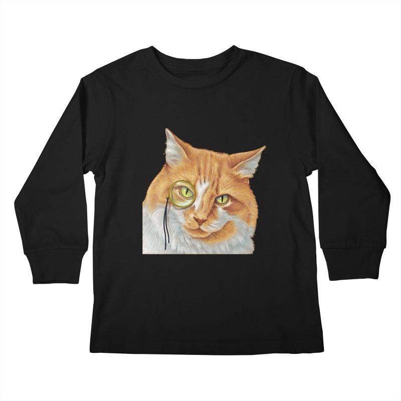 Captain Cat Kids Longsleeve T-Shirt by richgrote's Shop